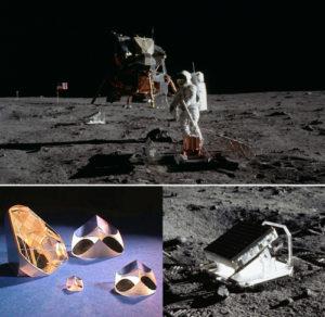 Apollo Mission Corner Cubes