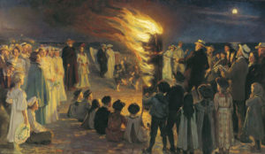 Saint Hans—Midsummer Celebration in Denmark