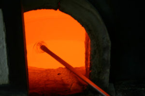 Industrial Glass Furnace