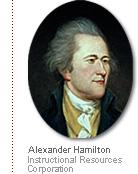 painting of Hamilton