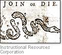 [Picture of 'Join or Die' cartoon]