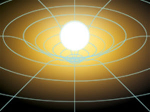 Einstein's Gravitational Warp
