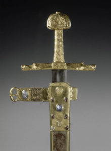 Coronation sword and scabbard of the Kings of France