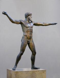 Zeus of Artemision (also called Poseidon)