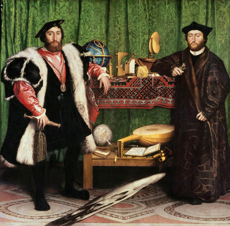Jean de Dinteville and Georges de Selve (The Ambassadors)