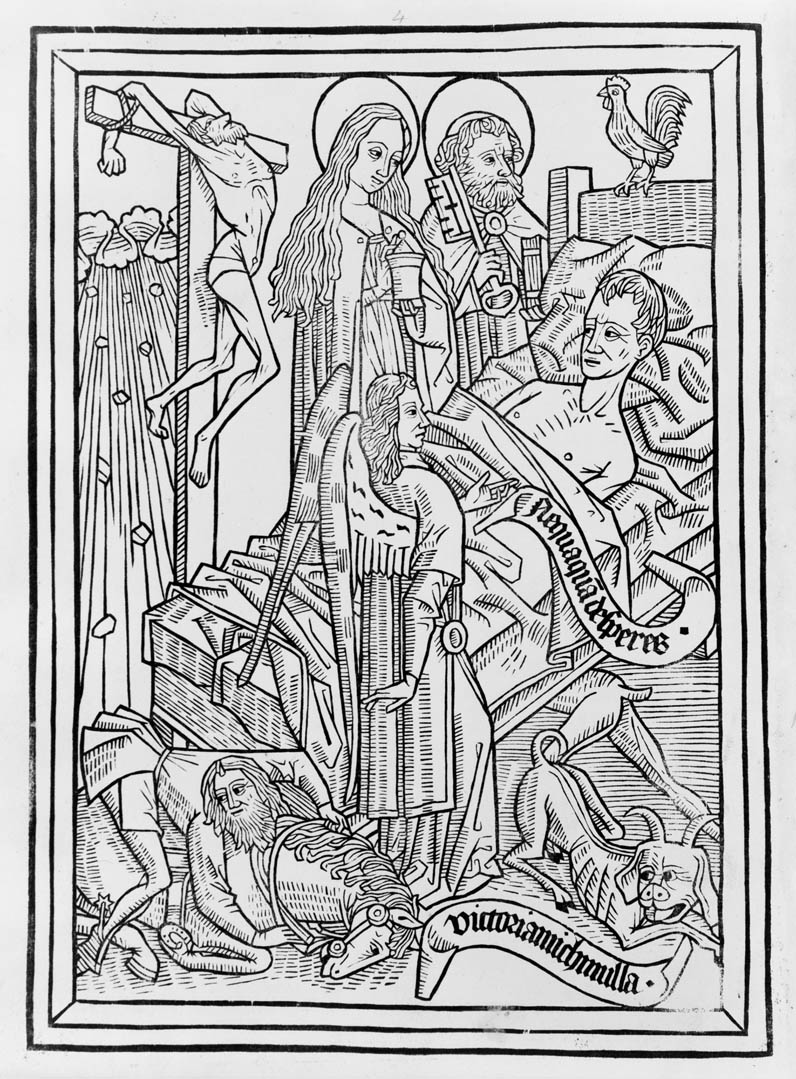 A page from the Ars Moriendi