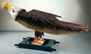 Eagle Coffin