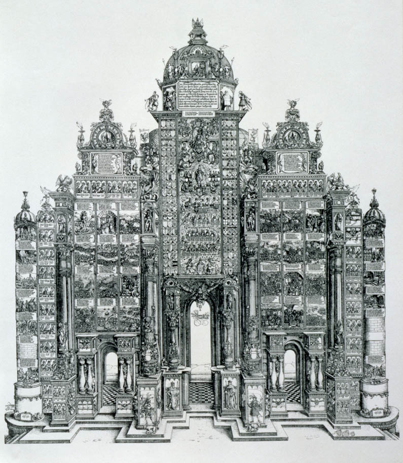 The Triumphal Arch of Maximilian I