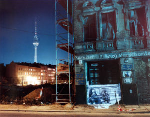 Mulackstrasse 37, Berlin from The Writing on the Wall, Projections in Berlin's Jewish Quarter