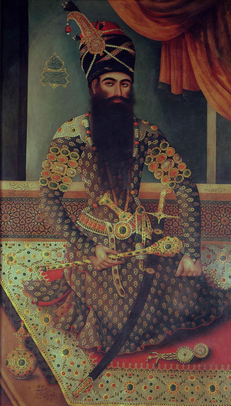 Portrait of Fath 'Ali Shah