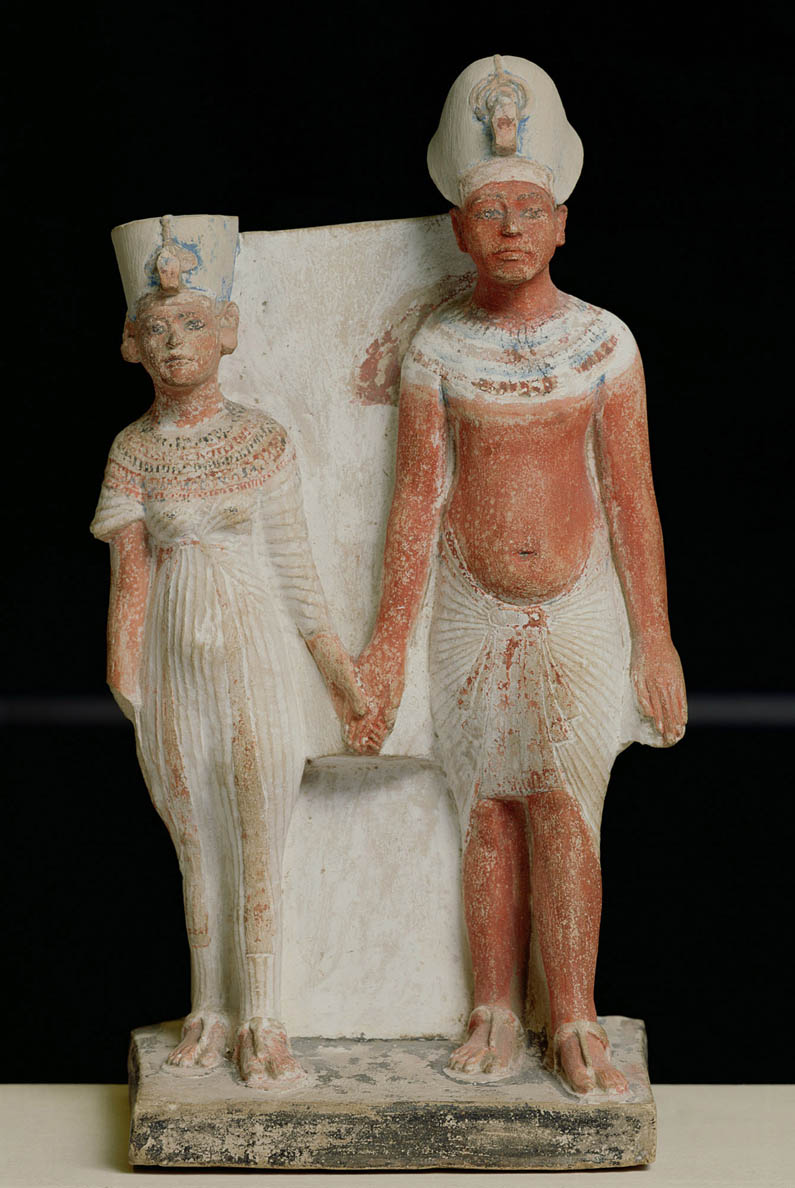 Amenhotep IV (Akhenaten) and Nefertiti