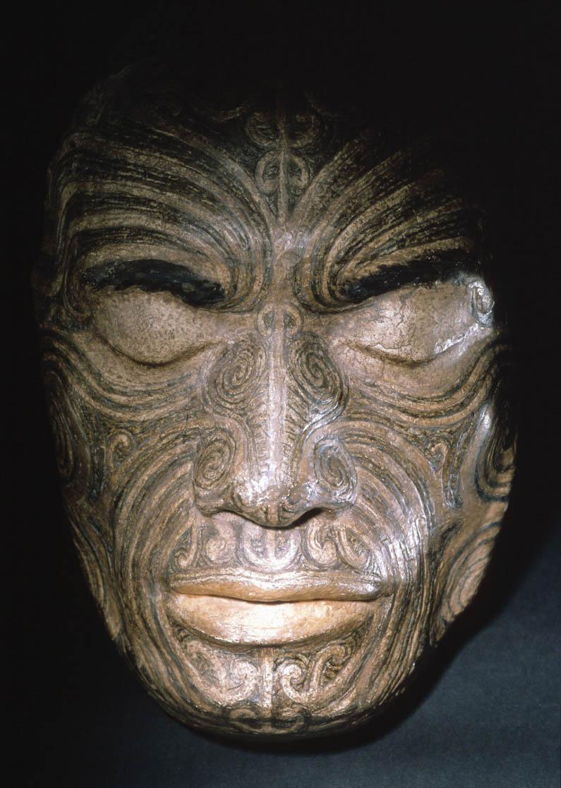 Life Mask of Chief Tapua Te Whanoa