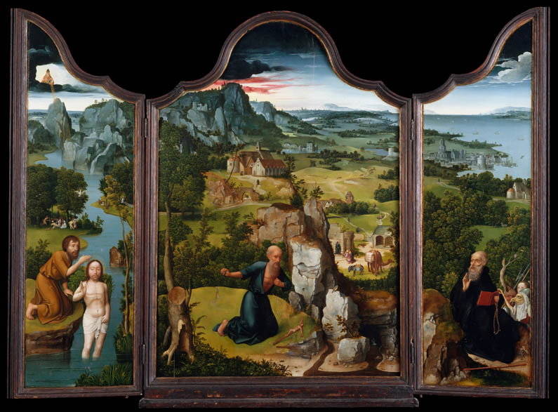 The Penitence of St. Jerome (triptych)