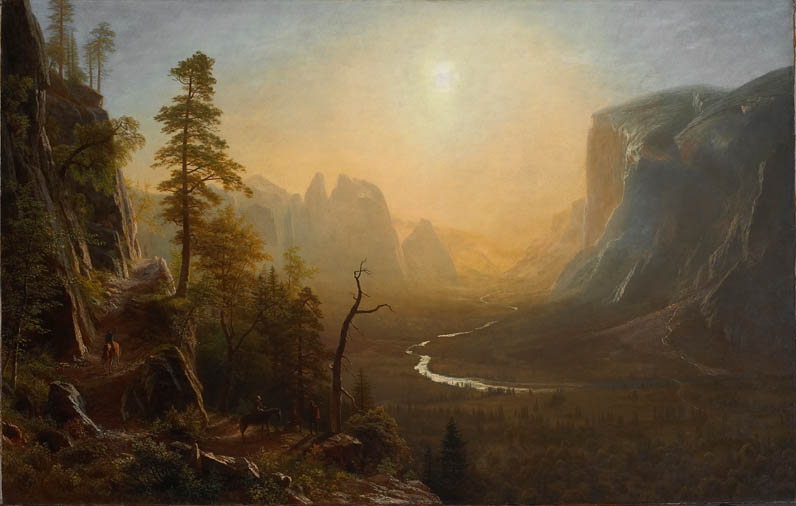 Yosemite Valley, Glacier Point Trail