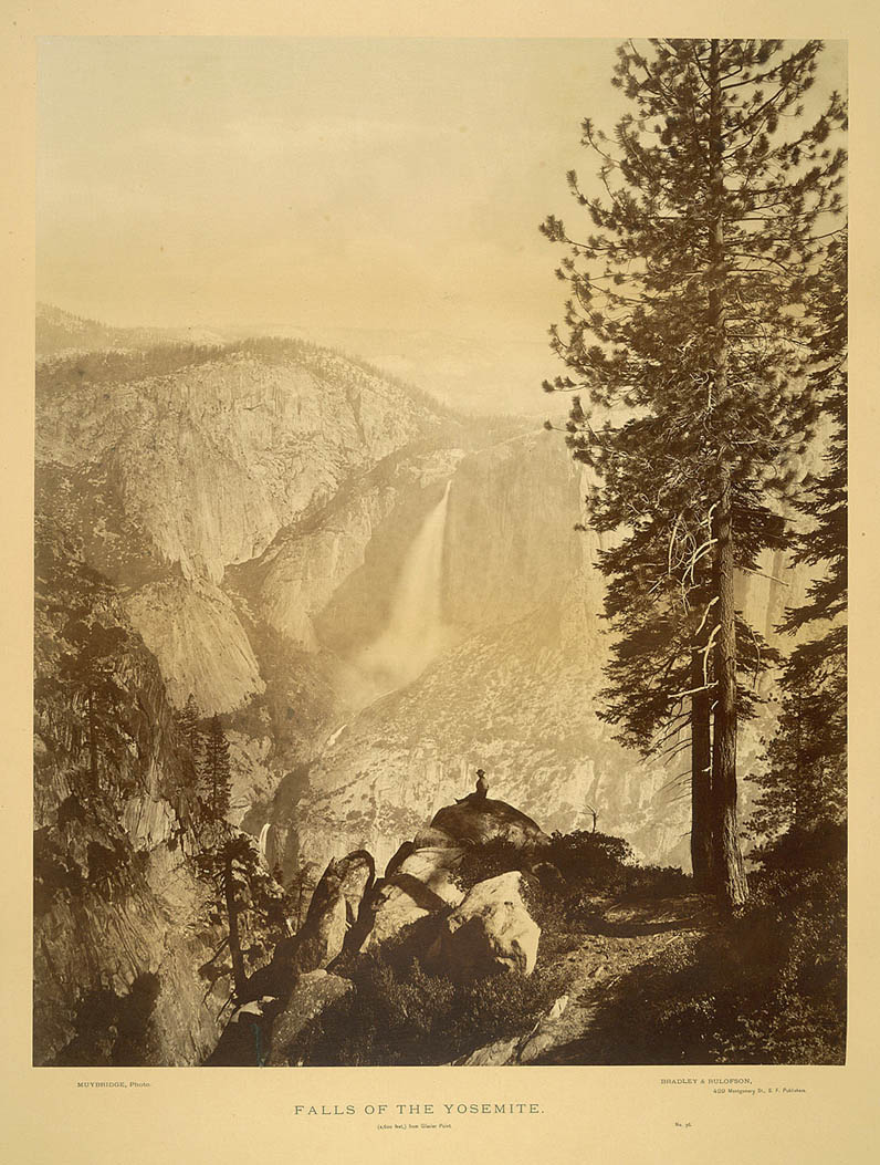 Falls of the Yosemite