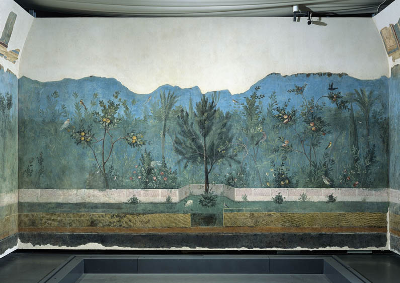 Frescoed Wall from the House of Livia