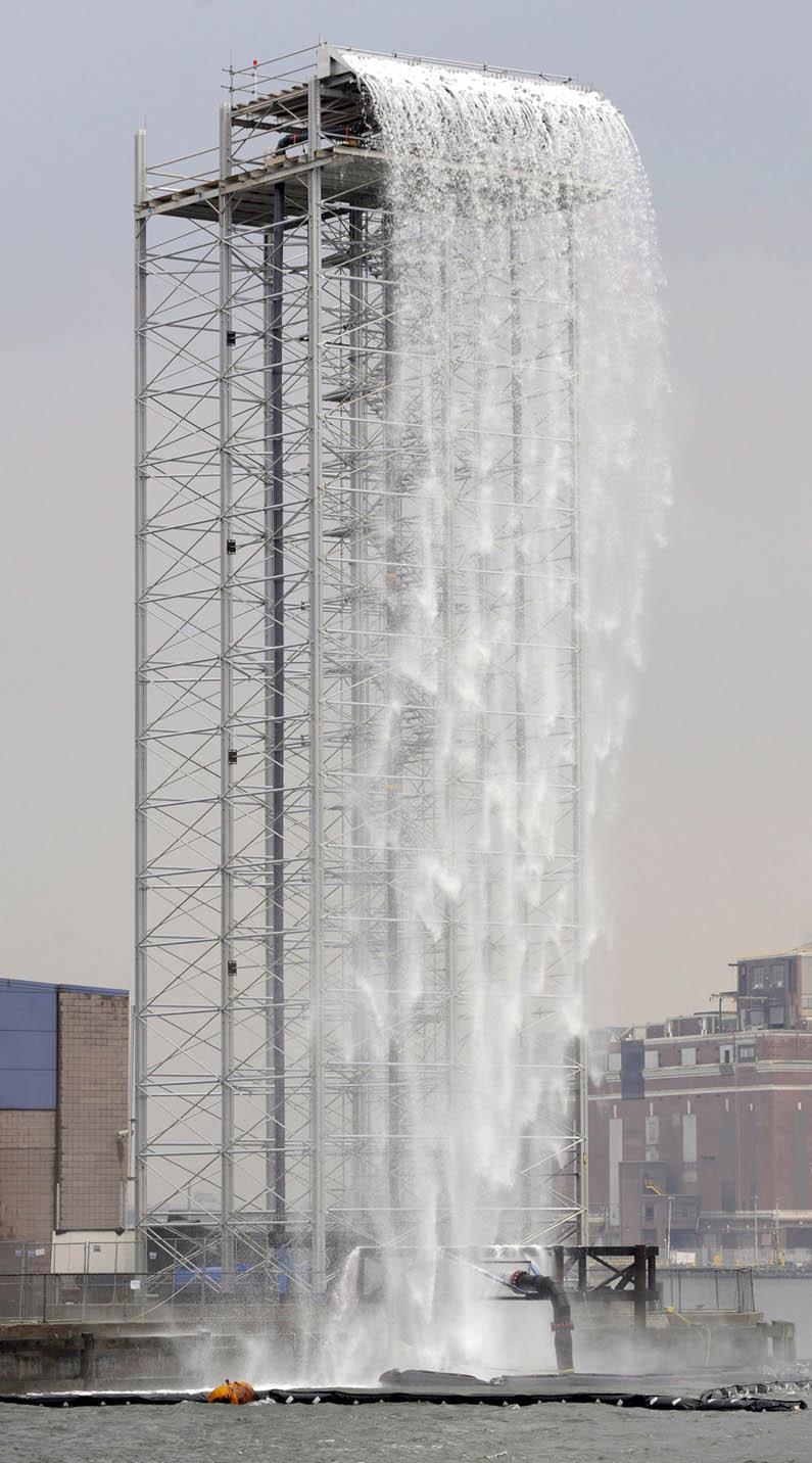 The New York City Waterfalls