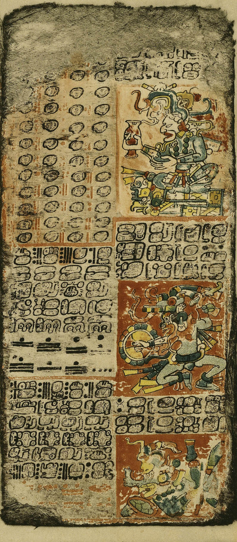Venus Table from the Dresden Codex