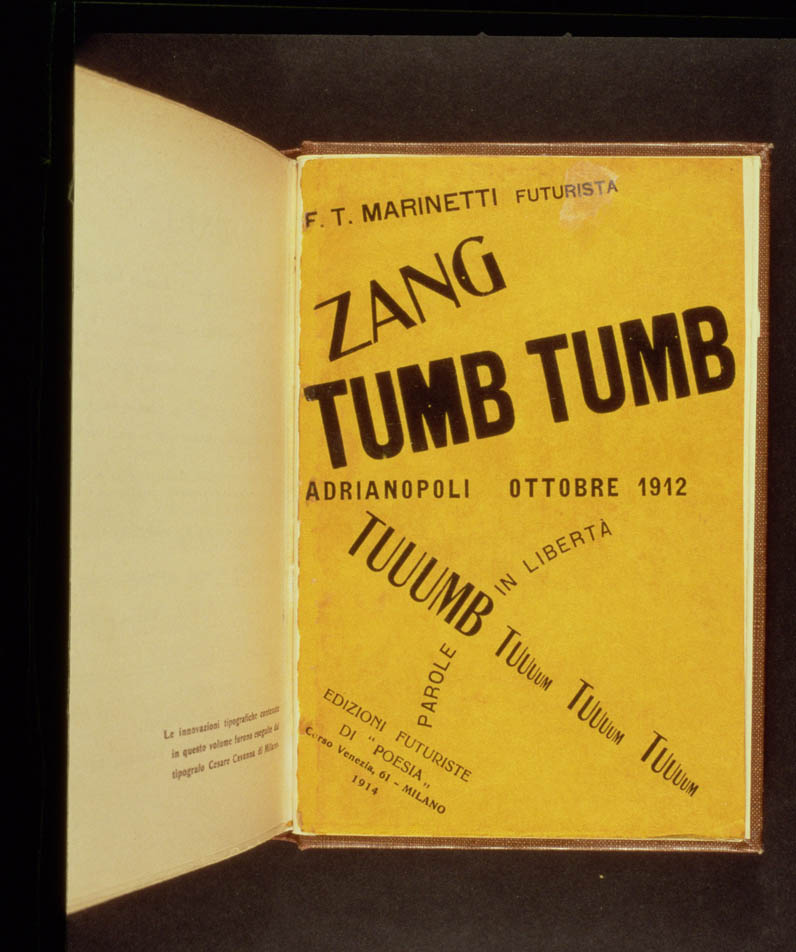 Book Cover for Zang Tumb Tumb